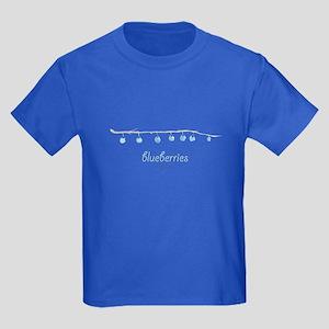 Blueberries Kids Dark T-Shirt