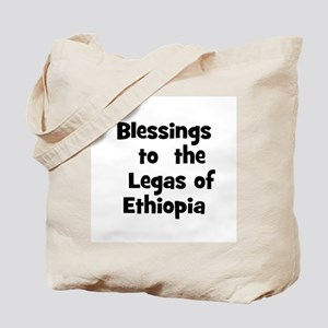 Blessings  to  the  Legas of  Tote Bag
