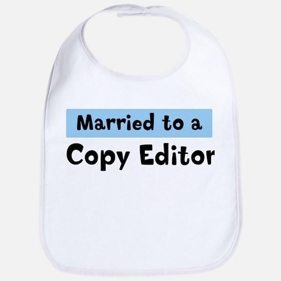 Married to: Copy Editor Bib