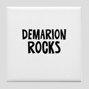 Demarion Rocks Tile Coaster