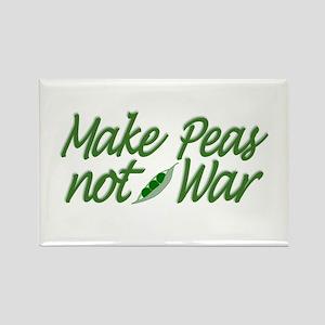 Make Peas not War Rectangle Magnet