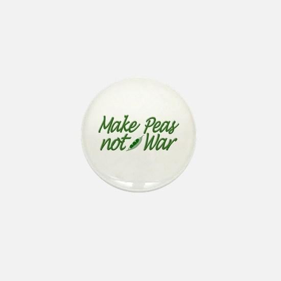 Make Peas not War Mini Button