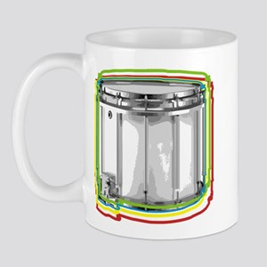 Marching Snare Drum Neon Mug