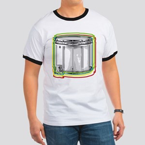 Marching Snare Drum Neon Ringer T