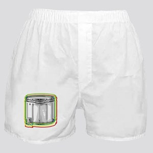 Marching Snare Drum Neon Boxer Shorts