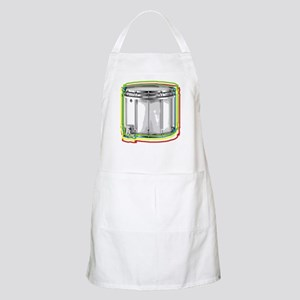 Marching Snare Drum Neon BBQ Apron