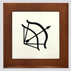 Dark-Hunter Bow Framed Tile