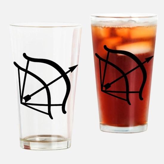 Dark-Hunter Bow Drinking Glass