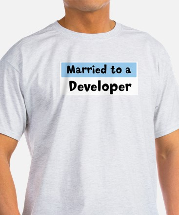 Married to: Developer T-Shirt