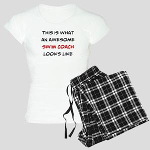 awesome swim coach Women's Light Pajamas