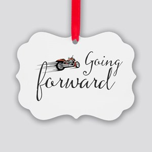 Going forward Picture Ornament