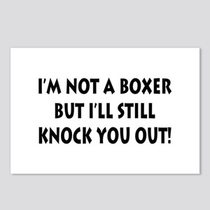 Anesthesia Knock Out Postcards (Package of 8)