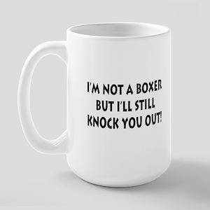 Anesthesia Knock Out Large Mug