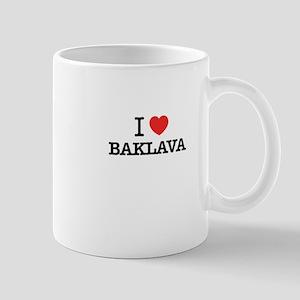 I Love BAKLAVA Mugs