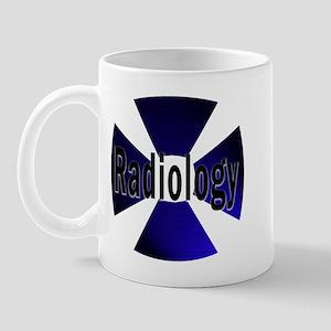 Radiology in Blue Mug