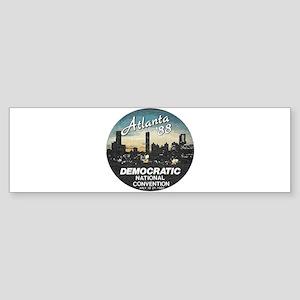DNC1988faded Bumper Sticker