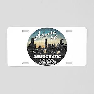 DNC1988faded Aluminum License Plate