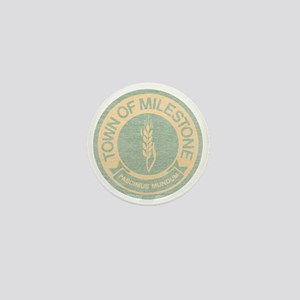 Town of Milestone Mini Button