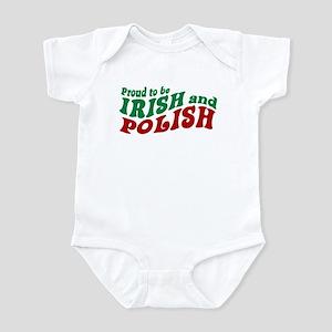 Proud Irish and Polish Infant Bodysuit