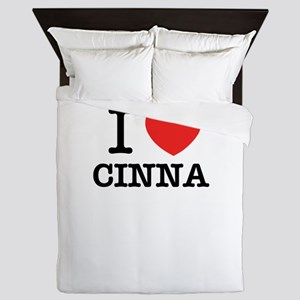 I Love CINNA Queen Duvet
