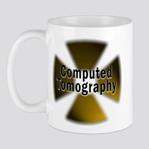 CT in Gold Mug