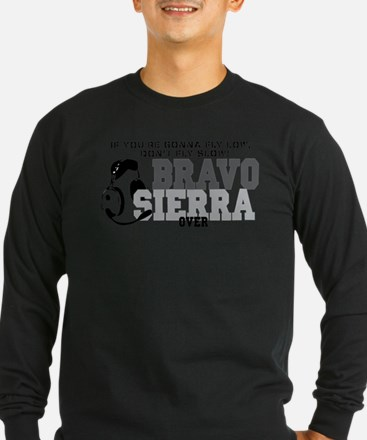 Bravo Sierra Avaition Humor Long Sleeve T-Shirt