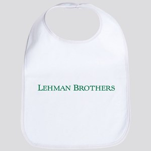lehmanbrothers-w Baby Bib