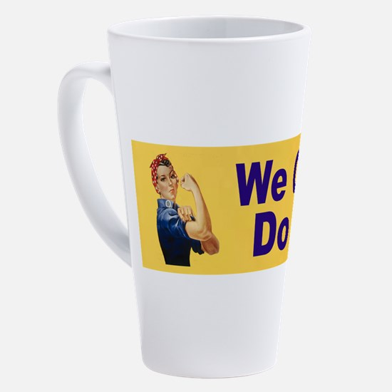 Cute Rosie the riveter 17 oz Latte Mug