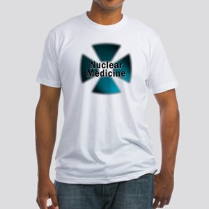 Nuclear Medicine Blue Fitted T-Shirt
