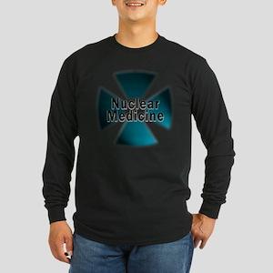 Nuclear Medicine Blue Long Sleeve Dark T-Shirt