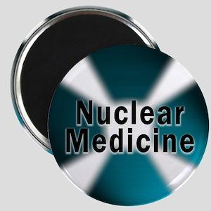 """Nuclear Medicine Blue 2.25"""" Magnet (10 pack)"""