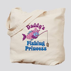 Daddy's Fishing Princess Tote Bag