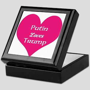 Putin loves Trump Keepsake Box