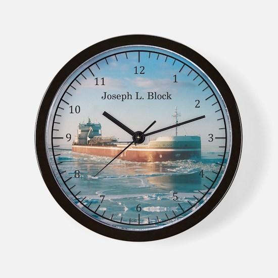 Joseph L. Block Wall Clock