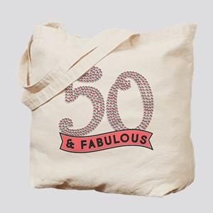 50 & Fabulous Tote Bag