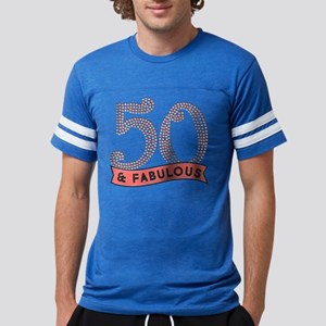 50 & Fabulous Mens Football Shirt
