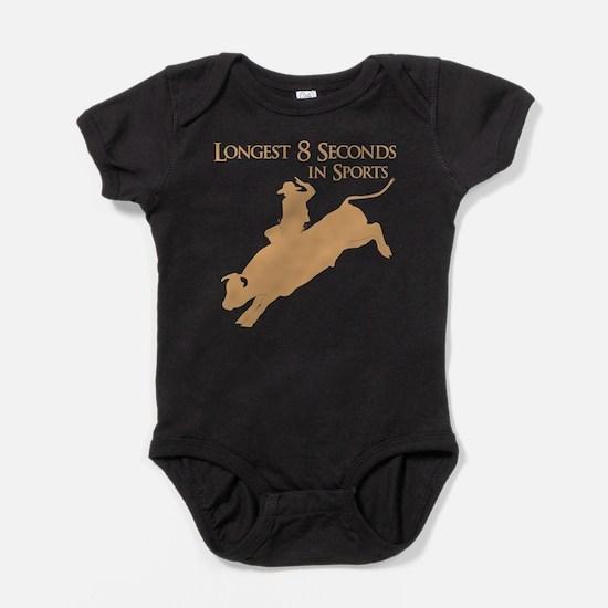 LONGEST 8 SECONDS Baby Bodysuit