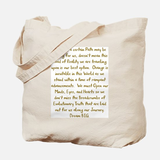 Breadcrumbs of Evolutionary Truth Tote Bag