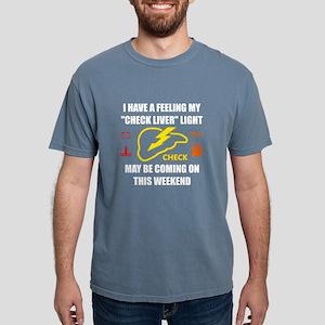 Check Liver Light T-Shirt