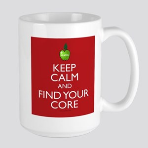 Keep Calm and Find Your Core Pilates Stainless Ste