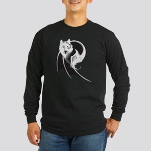 Wolf & Dragon Long Sleeve Dark T-Shirt