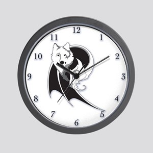 Wolf & Dragon Wall Clock
