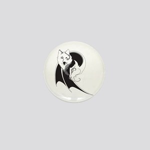 Wolf & Dragon Mini Button