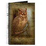 Great Horned Own Journal
