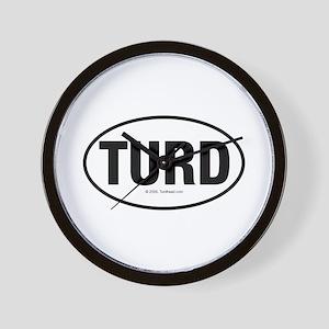 TurdwareT Wall Clock