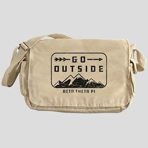 Beta Theta Pi Outside Messenger Bag
