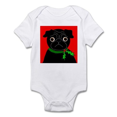 Holly (Black) Infant Bodysuit