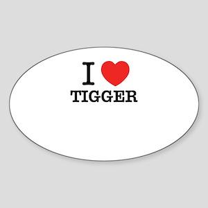 I Love TIGGER Sticker