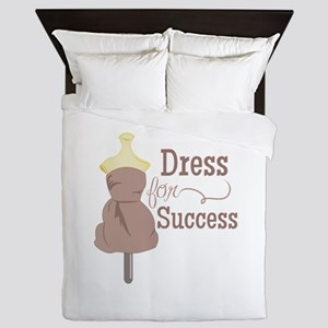 Dress For Success Queen Duvet