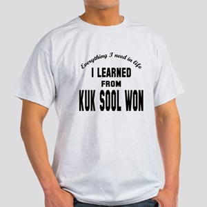 I learned from Kuk Sool Won Light T-Shirt